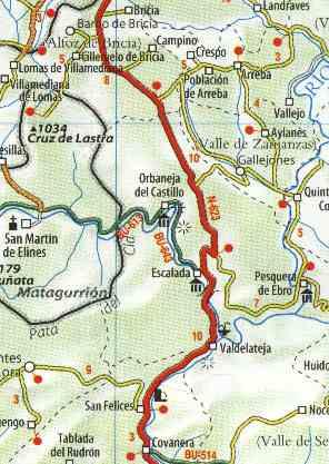 Mapa Orbaneja Del Castillo Burgos.Travelistica Com Fotos Casa Rural Casa Del Abuelo Orbaneja